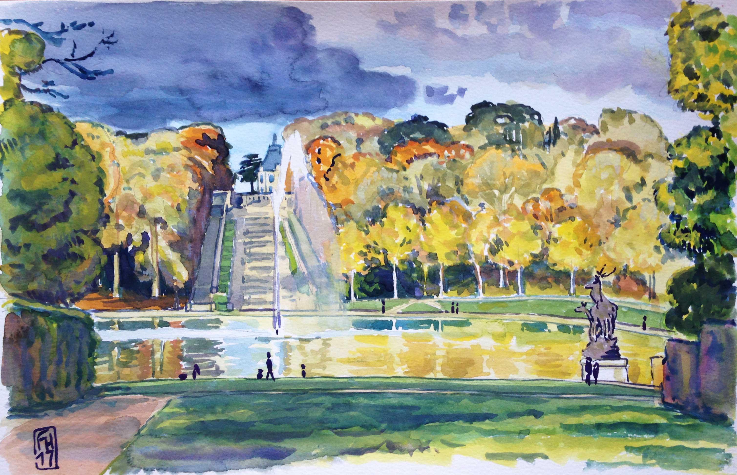 Automne au Parc de Sceaux